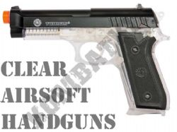Clear Airsoft Pistols